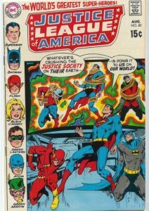 "Love at first sight: ""Justice League of America"" No. 82."