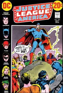 For Earth 2 to survive, which hero must perish?: 'Justice League of America' No. 102.