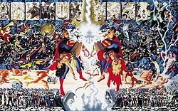 Cover to 'Crisis on Infinite Earths'