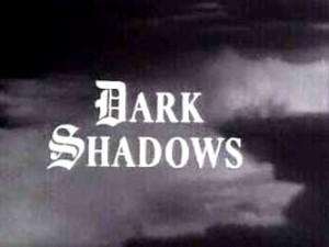 The opening credits shot to 'Dark Shadows'