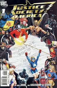 Alex Ross' dynamic cover to 'Justice Society of America' No. 1.