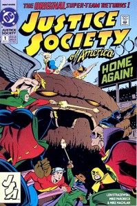 Justice Society to the rescue.