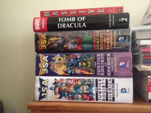 Three JSA omnibuses stacked.