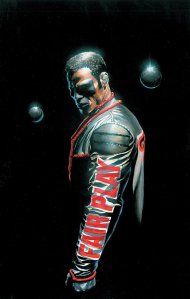 Alex Ross' intense interpretation of Michael Holt/Mr. Terrific.