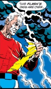 The Flash quits.