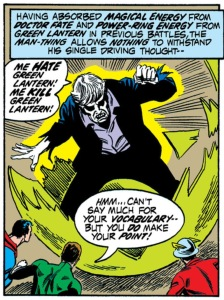 Solomon Grundy on a rampage.
