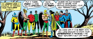 The JLA and the JSA part ways - but only until next year.