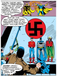 Hitler threatens our Golden Age Greats. As if we did not hate him enough already.