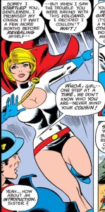 Power Girl introduces herself - and the DCU would never be the same.
