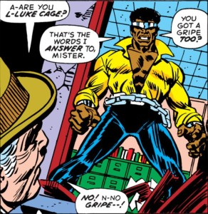 Sweet Christmas! Luke Cage!