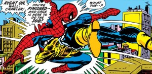 Spider-Man collides with 300-pounds of muscle.