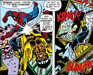 No property is safe when Spidey and Luke Cage tussle.