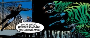 Mr. Terrific Vs. The Spectre.