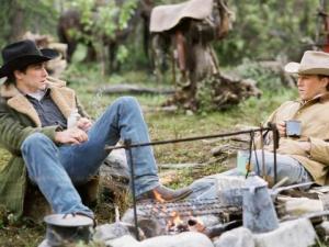The lifelong romance between Jack & Ennis takes root slowly on 'Brokeback Mountain.'