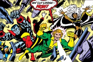 X-Men X-Cite! It does not have the same ring as Avengers Assemble, but you get the idea.