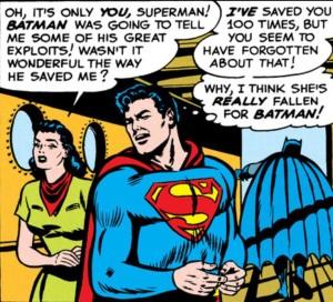 Superman, you bitch.