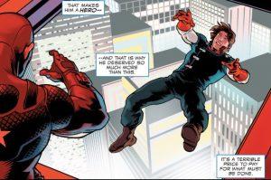 Cap helps a friend disembark. He is good like that.