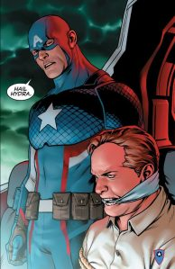 Marvel dares you to wonder what Captain America stands for now.