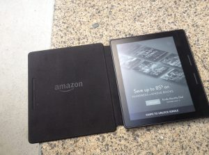 The new Kindle Oasis.