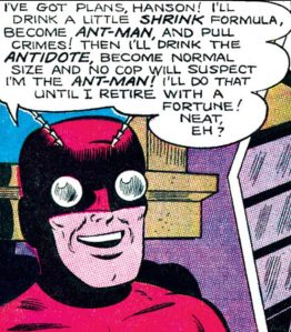 Ant-Man reveals his grand plan.