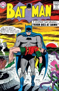 """Robin Dies at Dawn"" - and the unforgettable cover to ""Batman"" No. 156."