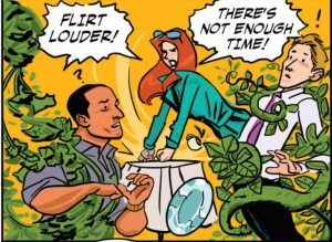 Poison Ivy grows fresh love.