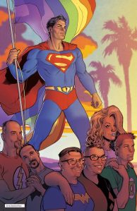 Superman: Still standing for truth, justice and the American way.