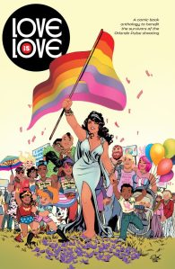 DC/IDW's benefit book 'Love is Love'