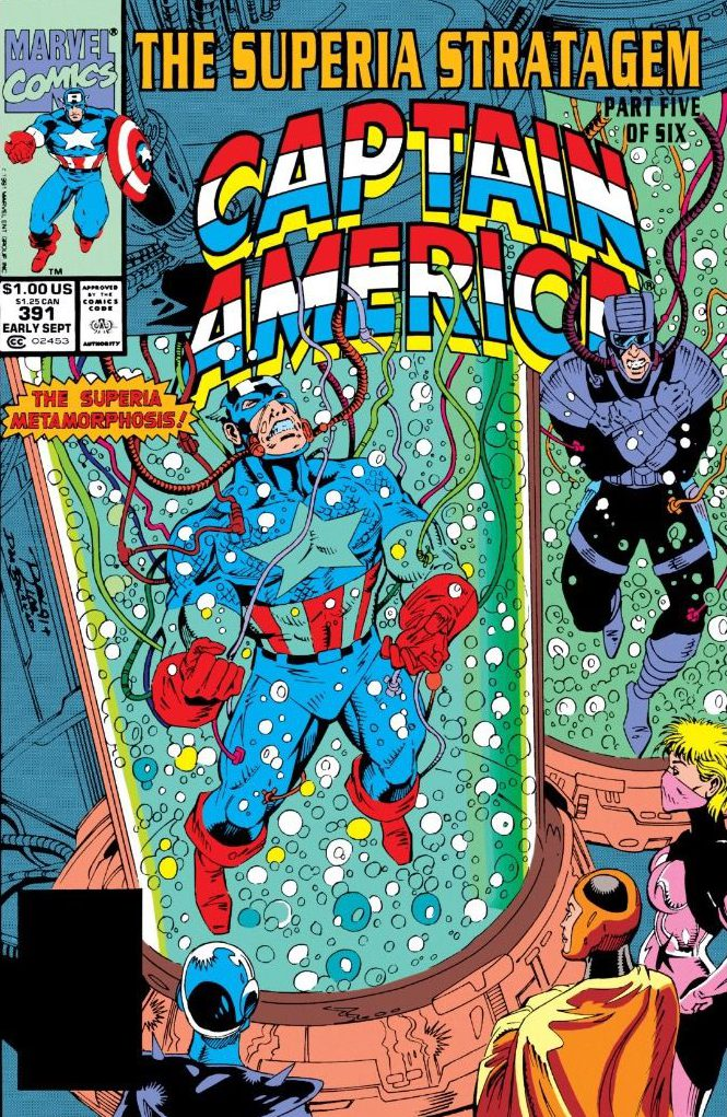 That Time Captain America Almost Became Caitlyn America Far From Rome