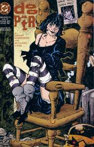 Grant Morrison's lasting contribution to the Doom Patrol: the heart-breaking and scary Crazy Jane.