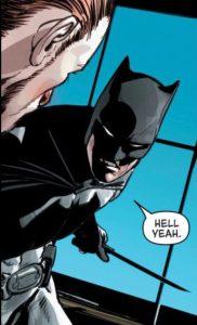 Batman decides to end a war with a little murder.
