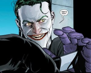The Joker thwarts a murder.