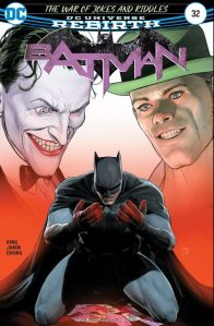 Batman No. 32 cover.