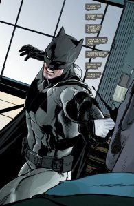 Batman strikes.