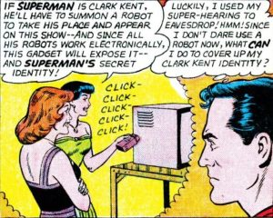 How often did Superman use his powers to spy on women anyway?