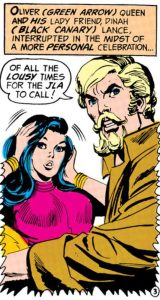 Ollie and Dinah are interrupted.