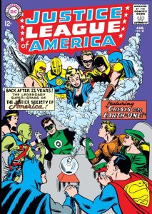 cover of Justice League of America No. 21