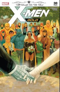 Cover to X-Men Gold No. 30