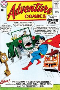 Cover of Adventure Comics No. 306