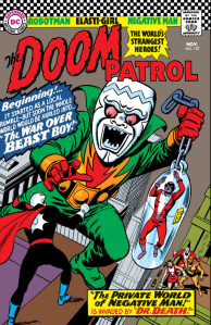 """No Beast Boys were actually harmed in the making of this issue of """"Doom Patrol."""""""