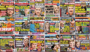 More examples of the Enquirer serving Man-Baby.