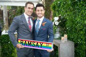 Matt Wilson and Takaya Honda of 'Neighbours.'