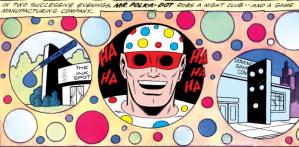 Mr. Polka-Dot and his crime spree