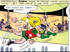 Robin attacked