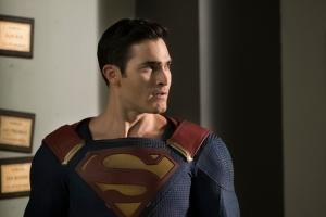 Tyler Hoechlin as Superman (Photo: CW).