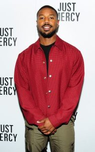 "Michael B. Jordan, ""Just Mercy."""