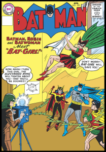 "The dazzling debut of Bat-Girl!, from ""Batman"" No. 139."
