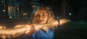 "Brec Bassinger as ""Stargirl"" (Photo: CW)"
